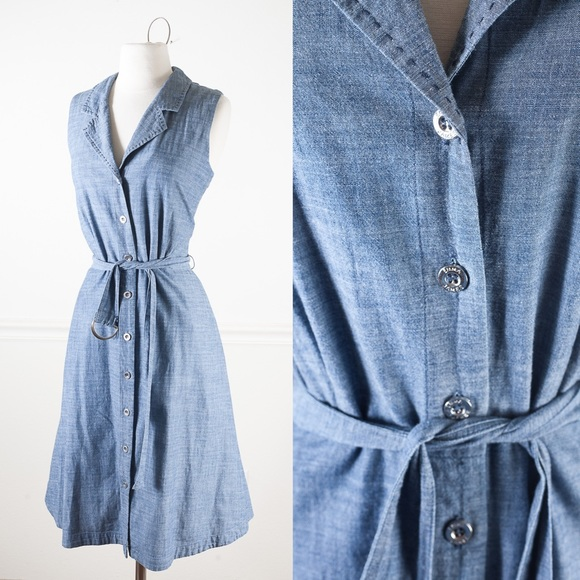 4585a4e252 Emma James Dresses   Skirts - Fit and flare chambray dress